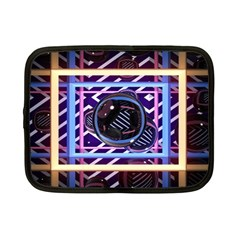 Abstract Sphere Room 3d Design Netbook Case (small)  by Nexatart