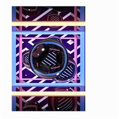 Abstract Sphere Room 3d Design Large Garden Flag (two Sides) by Nexatart