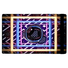 Abstract Sphere Room 3d Design Apple Ipad 2 Flip Case by Nexatart