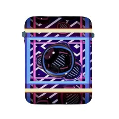 Abstract Sphere Room 3d Design Apple Ipad 2/3/4 Protective Soft Cases by Nexatart