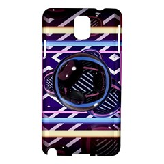 Abstract Sphere Room 3d Design Samsung Galaxy Note 3 N9005 Hardshell Case by Nexatart
