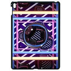 Abstract Sphere Room 3d Design Apple Ipad Pro 9 7   Black Seamless Case by Nexatart