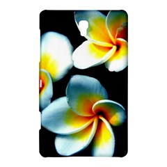 Flowers Black White Bunch Floral Samsung Galaxy Tab S (8 4 ) Hardshell Case  by Nexatart
