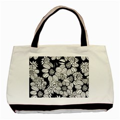 Mandala Calming Coloring Page Basic Tote Bag (two Sides)