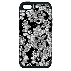 Mandala Calming Coloring Page Apple Iphone 5 Hardshell Case (pc+silicone)