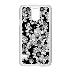 Mandala Calming Coloring Page Samsung Galaxy S5 Case (white) by Nexatart