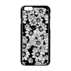 Mandala Calming Coloring Page Apple Iphone 6/6s Black Enamel Case by Nexatart