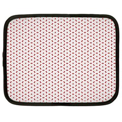 Motif Pattern Decor Backround Netbook Case (xxl)