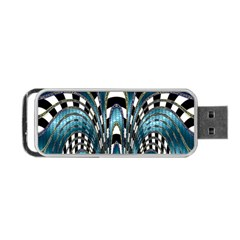 Abstract Art Design Texture Portable Usb Flash (two Sides)