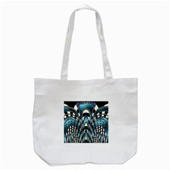 Abstract Art Design Texture Tote Bag (white) by Nexatart
