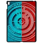 Vector Watch Texture Red Blue Apple iPad Pro 9.7   Black Seamless Case Front