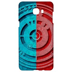 Vector Watch Texture Red Blue Samsung C9 Pro Hardshell Case  by Nexatart