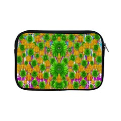 Jungle Love In Fantasy Landscape Of Freedom Peace Apple Ipad Mini Zipper Cases by pepitasart