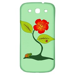 Plant And Flower Samsung Galaxy S3 S Iii Classic Hardshell Back Case by linceazul