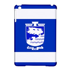 Flag Of Holon  Apple Ipad Mini Hardshell Case (compatible With Smart Cover) by abbeyz71