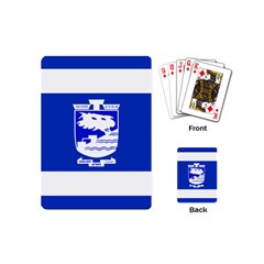 Flag Of Holon  Playing Cards (mini)  by abbeyz71