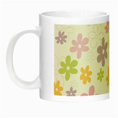Beautiful Spring Flowers Background Night Luminous Mugs by TastefulDesigns