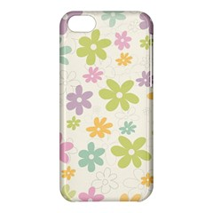 Beautiful Spring Flowers Background Apple Iphone 5c Hardshell Case by TastefulDesigns
