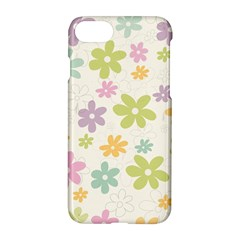 Beautiful Spring Flowers Background Apple Iphone 7 Hardshell Case by TastefulDesigns