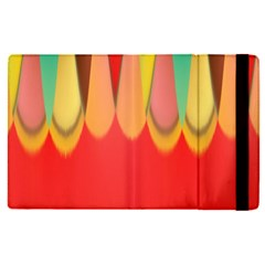 Colors On Red Apple Ipad Pro 12 9   Flip Case by linceazul