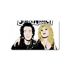 Sid And Nancy Magnet (name Card) by Valentinaart