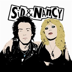 Sid And Nancy Canvas 20  X 20   by Valentinaart