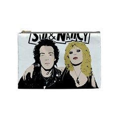 Sid And Nancy Cosmetic Bag (medium)  by Valentinaart
