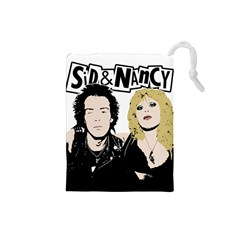 Sid And Nancy Drawstring Pouches (small)