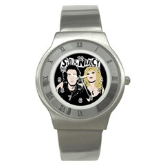 Sid And Nancy Stainless Steel Watch by Valentinaart