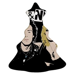 Sid And Nancy Christmas Tree Ornament (two Sides)