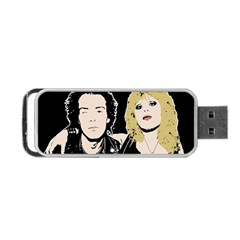 Sid And Nancy Portable Usb Flash (one Side)