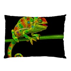 Chameleons Pillow Case by Valentinaart