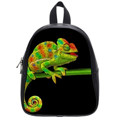 Chameleons School Bags (small)  by Valentinaart