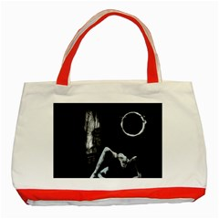 The Ring Classic Tote Bag (red) by Valentinaart