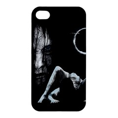 The Ring Apple Iphone 4/4s Premium Hardshell Case by Valentinaart