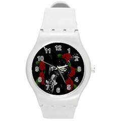 Slash Round Plastic Sport Watch (m) by Valentinaart