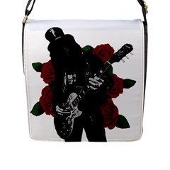 Slash Flap Messenger Bag (l)  by Valentinaart