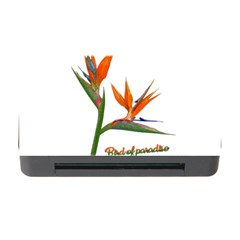 Bird Of Paradise Memory Card Reader With Cf by Valentinaart