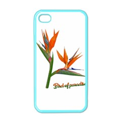 Bird Of Paradise Apple Iphone 4 Case (color) by Valentinaart