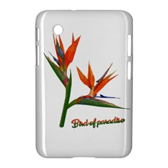 Bird Of Paradise Samsung Galaxy Tab 2 (7 ) P3100 Hardshell Case  by Valentinaart