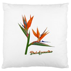 Bird Of Paradise Standard Flano Cushion Case (two Sides)