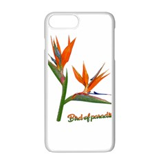 Bird Of Paradise Apple Iphone 7 Plus White Seamless Case by Valentinaart
