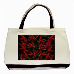 Bird Of Paradise Basic Tote Bag (two Sides)