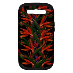 Bird Of Paradise Samsung Galaxy S Iii Hardshell Case (pc+silicone) by Valentinaart