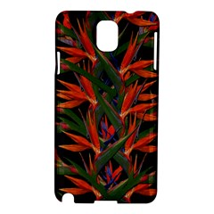 Bird Of Paradise Samsung Galaxy Note 3 N9005 Hardshell Case by Valentinaart