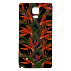 Bird Of Paradise Galaxy Note 4 Back Case by Valentinaart