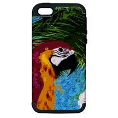 Ara Apple Iphone 5 Hardshell Case (pc+silicone) by Valentinaart