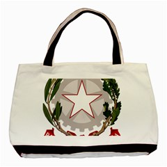 Emblem Of Italy Basic Tote Bag by abbeyz71