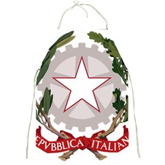 Emblem Of Italy Full Print Aprons by abbeyz71