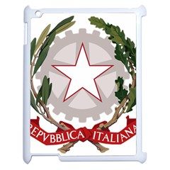 Emblem Of Italy Apple Ipad 2 Case (white) by abbeyz71